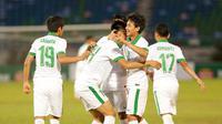 Timnas Indonesia U-19 Vs Filipina (Liputan6.com/ Yoppy Renato)