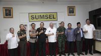 Rapat Koordinas Pengamanan Pilkada Sumsel (Dok. Humas Pemprov Sumsel / Nefri Inge)
