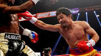Floyd Mayweather vs Manny Pacquiao (REUTERS/Steve Marcus)
