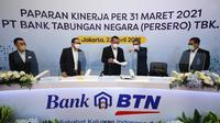 Paparan Kinerja PT Bank Tabungan Negara (Persero) Tbk atau Bank BTN (dok: BTN)