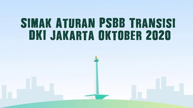 Gubernur DKI Jakarta, Anies Baswedan secara resmi menerapkan Pembatasan Sosial Berskala Besar (PSBB) Transisi. Keputusan ini melonggarkan aturan PSBB ketat sebelumnya, karena melambatnya kasus Covid-19 selama satu bulan.