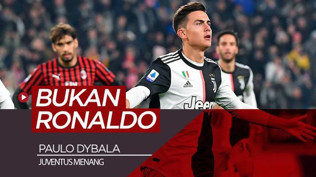Berita video Paulo Dybala menjadi penentu kemenangan Juventus atas AC Milan pada pekan ke-12 Serie A 2019-2020, dan bukan Cristiano Ronaldo.