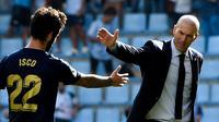 Pelatih Real Madrid, Zinedine Zidane. (AFP/Miguel Riopa)