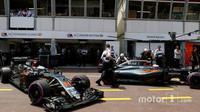 Mesin baru akan membuat Button dan Alonso lebih kompetitif di Montreal.