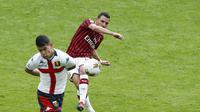 AC Milan vs Genoa di San Siro tanpa penonton (AP Photo/Antonio Calanni)