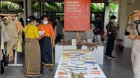 Kemenparekraf/Baparekraf menggagas event Aksilarasi Fesyen Manggarai Barat 2020   untuk memperkuat destinasi super premium Labuan Bajo di Pondok Mai Ceng'go, Labuan Bajo, NTT, 3-4 Desember 2020. (Ist)