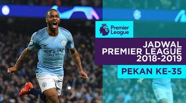 Berita video jadwal Premier League 2018-2019 pekan ke-35. Manchester City hadapi Tottenham Hotspur, Sabtu (20/4/2019) di Etihad Stadium, Manchester.