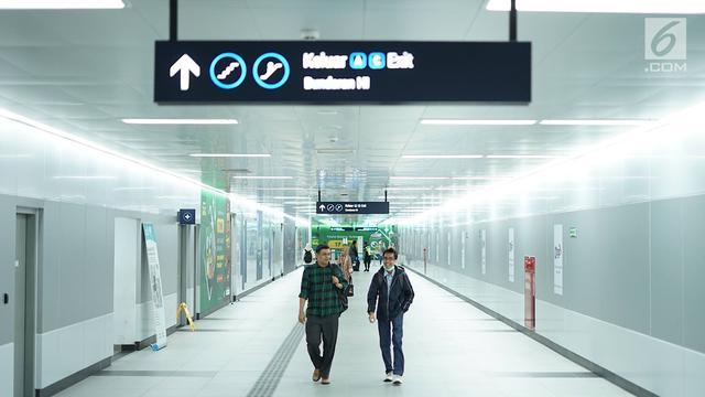 MRT Sempurnakan Akses Pejalan Kaki di Area Stasiun - Bisnis ...