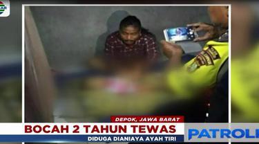 Ayah tiri dan ibu korban yang berprofesi sebagai pengamen saat ini masih dimintai keterangan di Polresta Depok.