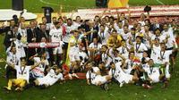 Sevilla keluar sebagai juara Liga Europa 2019/2020. (Dok. La Liga)