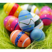 Ilustrasi Telur Paskah. (via. Patch)
