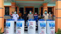 Pertamina memberdayakan RKB dan UMKM untuk membantu tenaga medis dan masyarakat di tengah pandemi Covid-19.