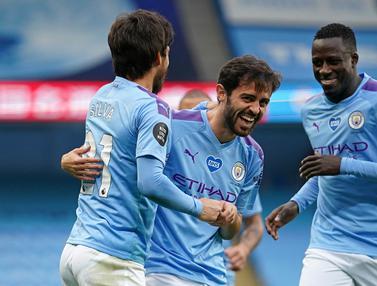 David Silva Tampil Apik, Manchester City Hajar Bournemouth