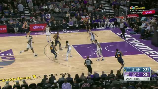 Berita video game recap NBA 2017-2018 antara Utah Jazz melawan Sacramento Kings dengan skor 120-105.