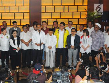 Unggul Versi Hitung Cepat, Ini Tanggapan Jokowi - Ma'ruf
