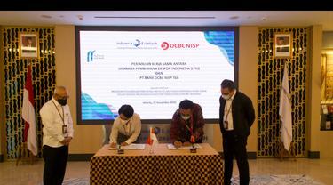 LPEI dan PT Bank OCBC NISP Tbk menandatangani kerja sama penjaminan kredit modal kerja