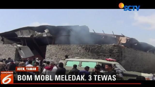 Akibat ledakan sedikitnya tiga orang tewas, 5 orang juga luka-luka termasuk dua anak-anak.