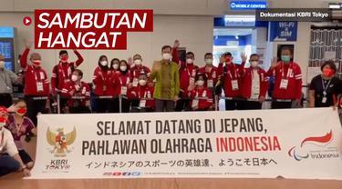 Berita video KBRI Tokyo kembali memberi sambutan hangat kepada para atlet Indonesia yang berjuang di Paralimpiade Tokyo 2020, Jumat (20/8/2021).