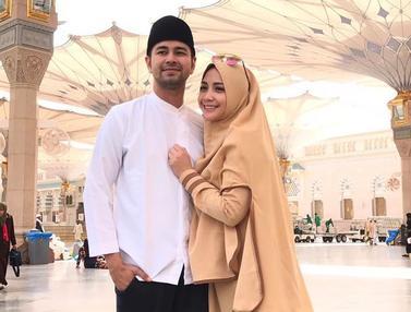 Gaya Hijab Nagita Slavina yang Simpel
