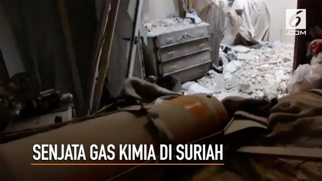 Suriah White Helmets melaporkan setidaknya ada 40 orang lebih yang tewas karena dugaan serangan senjata kimia mematikan.