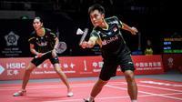 Ganda campuran Indonesia dipastikan gagal meraih gelar di Singapura Terbuka 2019 setelah Hafiz Faizal/Gloria Emanuelle Widjaja kandas di semifinal. (AFP/STR)