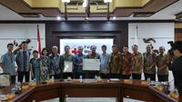 Kepala Perwakilan Kantor Dagang dan Ekonomi (TETO) John Chen menyampaikan belasungkawa dan kepedulian dari Presiden Tsai Ing-wen kepada korban bencana di Sulawesi Tengah, Indonesia (TETO)