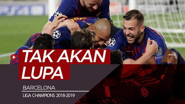Berita video Barcelona tak akan melupakan apa yang terjadi pada perempat final Liga Champions musim lalu setelah menang 3-0 pada leg pertama semifinal melawan Liverpool.