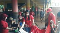 Kader PSI bersihkan SDN 5 Bintaro (Istimewa)