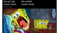 6 Drama saat Vs Setelah Marah-Marah ala Netizen Ini Benar Adanya (sumber: Twitter.com/andihiyat)