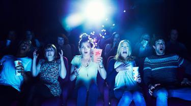 [Bintang] Ilustrasi penonton film