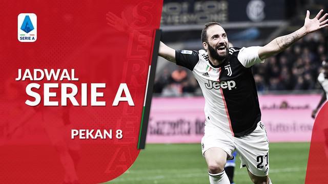 Berita video jadwal Serie A 2019-2020 pekan ke-8. Juventus ditantang Bologna di Allianz Stadium.