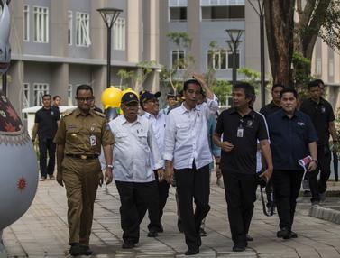 Jokowi Pantau Wisma Atlet