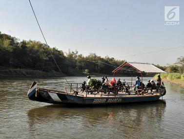 Perahu Eretan Sungai Brantas Riwayatmu Kini