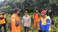 Penemuan korban di tengah-tengah hutan Tarakan Kalimantan Utara. Foto istimewa