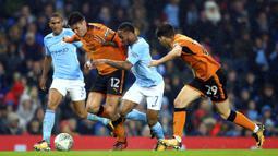 Wolverhampton Wanderers (baju oranye) (Tim Goode/PA via AP)