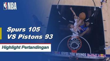 LaMarcus Aldridge mencetak 24 poin dan DeMar DeRozan menambah 17 ketika Spurs menghentikan tiga kekalahan beruntun mereka
