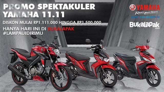 Yuk Beli Motor Yamaha Di Bukalapak Dan Dapatkan Cashback 1 5 Jt Lifestyle Liputan6 Com