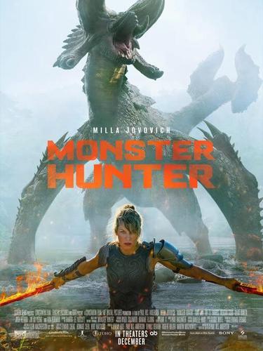 Poster film Monster Hunter. (Foto: Dok. Sony Pictures Releasing/ IMDb)