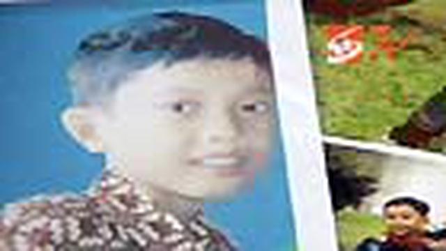 Heri Prasetyo, usia 14 tahun, hilang di Terminal Kampung Rambutan, Jakarta Timur, sejak 14 April 2010.