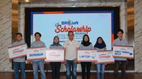 PT. Bank Rakyat Indonesia (Persero) Tbk kembali meluncurkan program beasiswa untuk mahasiswa berprestasi.