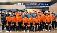 idxbet login | Timnas Thailand U-23 saat jelang keberangkatan ke Hanoi untuk ikut serta di kualifikasi Piala AFC U-23 2020, Rabu (20/3/2019). (Bola.com/Dok. FAT)