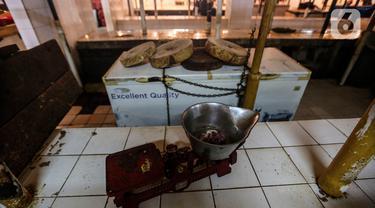 Potret Lapak Kosong Pedagang Daging