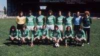 Saint-Etienne pada final Piala Champions 1976. (AFP)