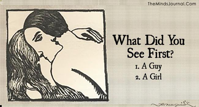 Gambar pertama yang kamu lihat mengungkap kondisimu saat ini/copyright themindsjournal.com
