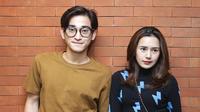 Bio One dan Beby Tsabina di Falcon Pictures (Bambang E Ros/Fimela.com)