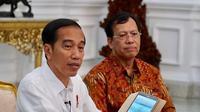 Presiden Jokowi lapor SPT Pajak Menggunakan e-Filing (Dok Foto: Biro Pers Istana)