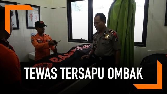 Dua orang guru tewas tersapu ombak di Jember. Saat kejadian, mereka sedang rekreasi di Pantai Payangan.