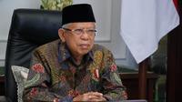 Wakil Presiden Ma'ruf Amin menyebut, konsep sustainable development menjadi dasar dalam pengembangan ekonomi dan keuangan syariah.