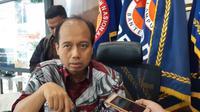 Kepala Pusat Data Informasi dan Humas Badan Nasional Penanggulangan Bencana (BNPB) Sutopo Purwo Nugroho. (Liputan6.com/Fachrur Rozie)