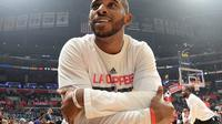 Guard Los Angeles Clippers, Chris Paul, harus menjalani operasi untuk mengobati cedera robek ligamen jempol tangan kiri pada Rabu (18/1/2017). (NBA)